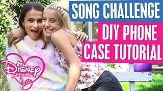 DISNEY CHANNEL VLOG | SONG CHALLENGE | DIY PHONE CASE TUTORIAL| Official Disney Channel UK
