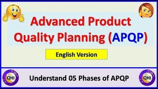 Advanced Product Quality Planning (APQP) – Learn 05 phases of APQP (English Version)