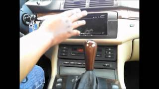 Nexus 7 Headunit Install BMW e46 2001 330ci with Harman Kardon part 2 - Final