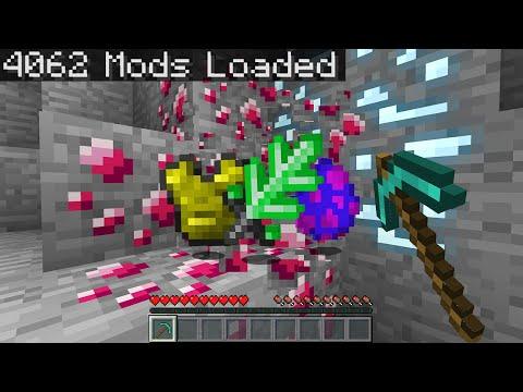 Minecraft Randomizer But With 4,000 Mods...