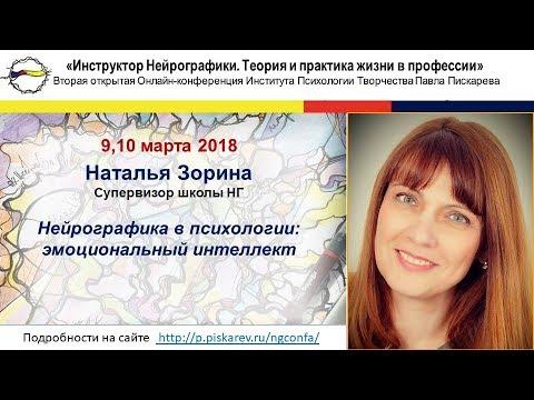 """Зорина Наталья """"Нейрографика в психологии: эмоциональный интеллект"""""""