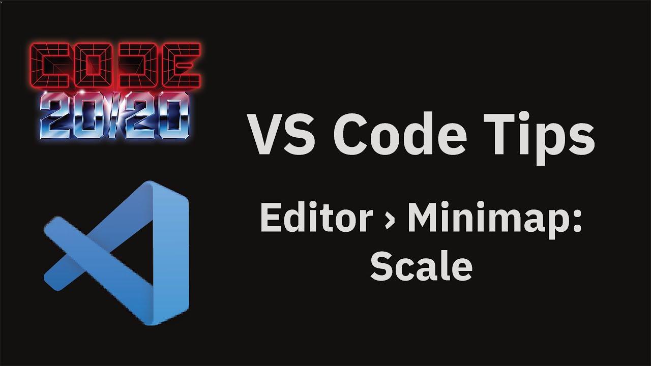 Editor › Minimap: Scale