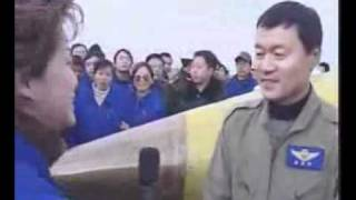 L15首飞录象Chinese L-15 Falcon advanced jet trainer first flight 2006