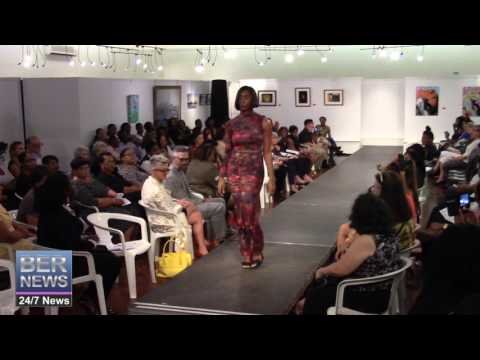 Carla-Faye Hardtman At Bermuda Fashion Collective, November 3 2016