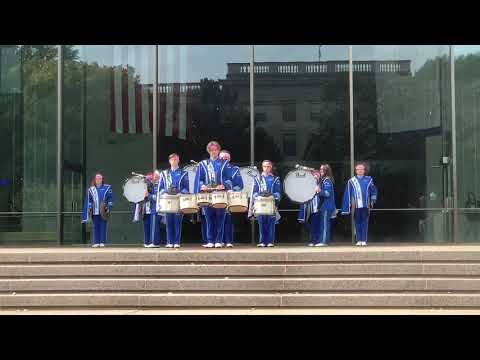 Charleston Drum Battle Part 1- Robert C Byrd High School Marching Band 2019