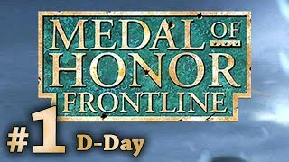 Medal of Honor: Frontline - D-Day (PS2, PS3) no commentary walkthrough part 1