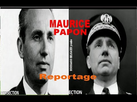 Maurice Papon Reportage