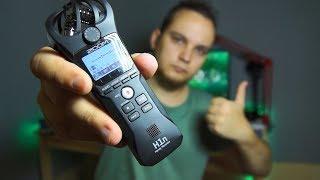 zoom H1n  Портативная студия звукозаписи  Обзор и тест рекордера Zoom H1  Студийный микрофон