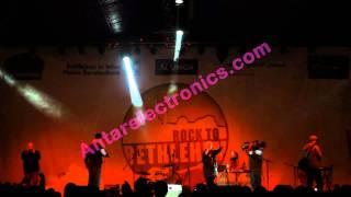 Danny Fresh and Laura Bellon at Rock to Bethlehem Christmas Festival 2011