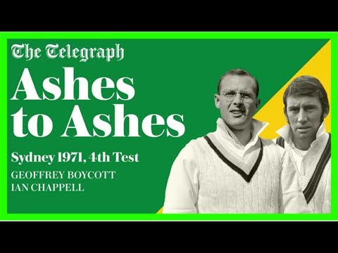 Ashes to ashes podcast: revisiting sydney 1971, 4th test