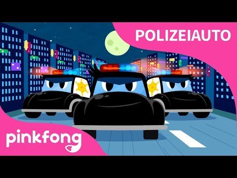 [Deutsch] Polizeiauto - Lied | Auto - Lieder | Pinkfong Lieder für Kinder