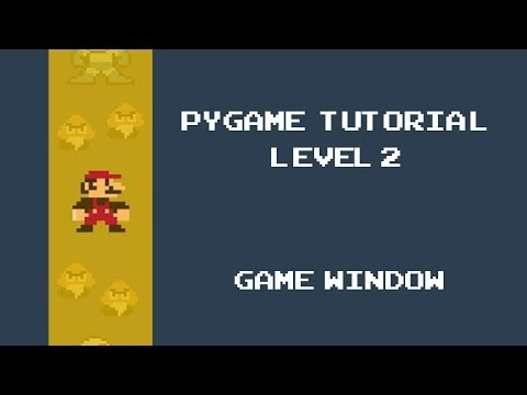 Pygame Tutorial - 2 - Creating our first Game Window thumbnail