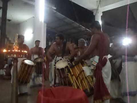 Neeleswaram raveen Thayambaka 2018  @ Idimuzhikkal Sree Maha Ganapathi Temple - Part1