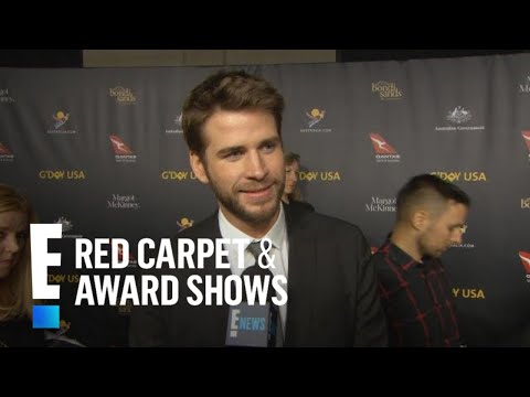 Liam Hemsworth Talks Marriage to Miley Cyrus   E! Red Carpet & Award Shows