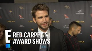 Liam Hemsworth Talks Marriage to Miley Cyrus | E! Red Carpet & Award Shows