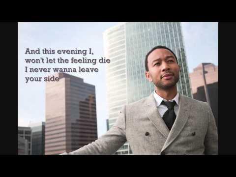 John Legend - You & I Lyrics