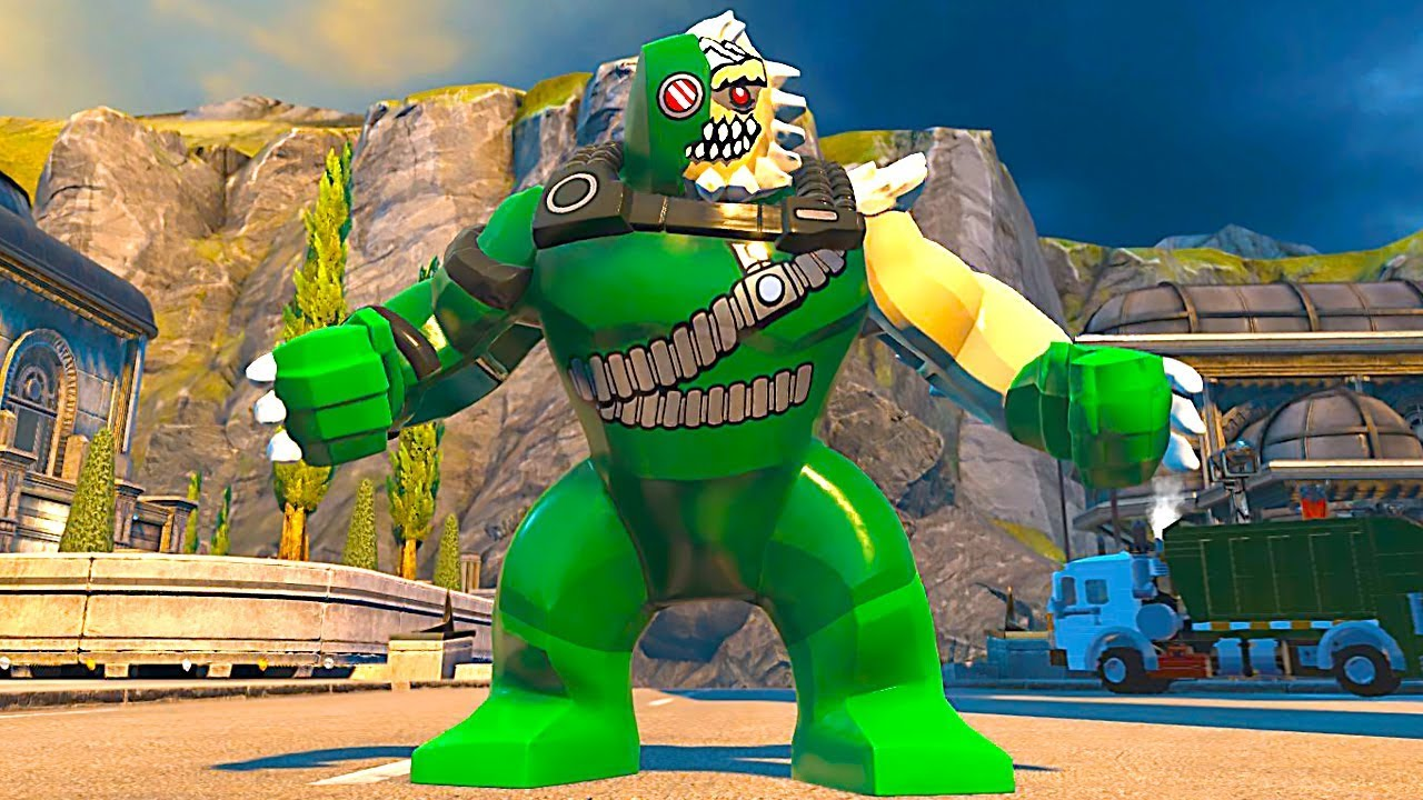 Lego Dc Super Villains Doomsday Open World Gameplay Pc Hd