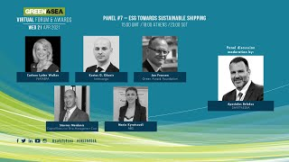 2021 GREEN4SEA Virtual Forum Panel 7: ESG towards sustainable shipping