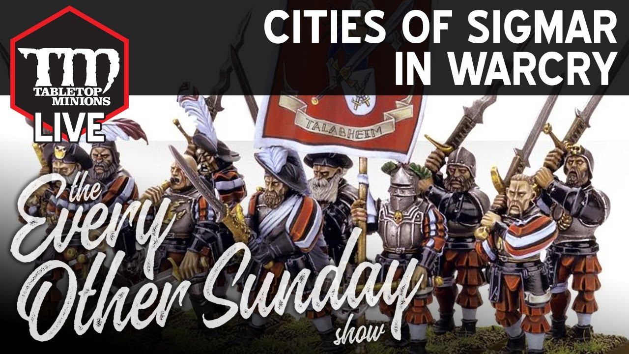 Cities of Sigmar in Warcry - The Every Other Sunday Show