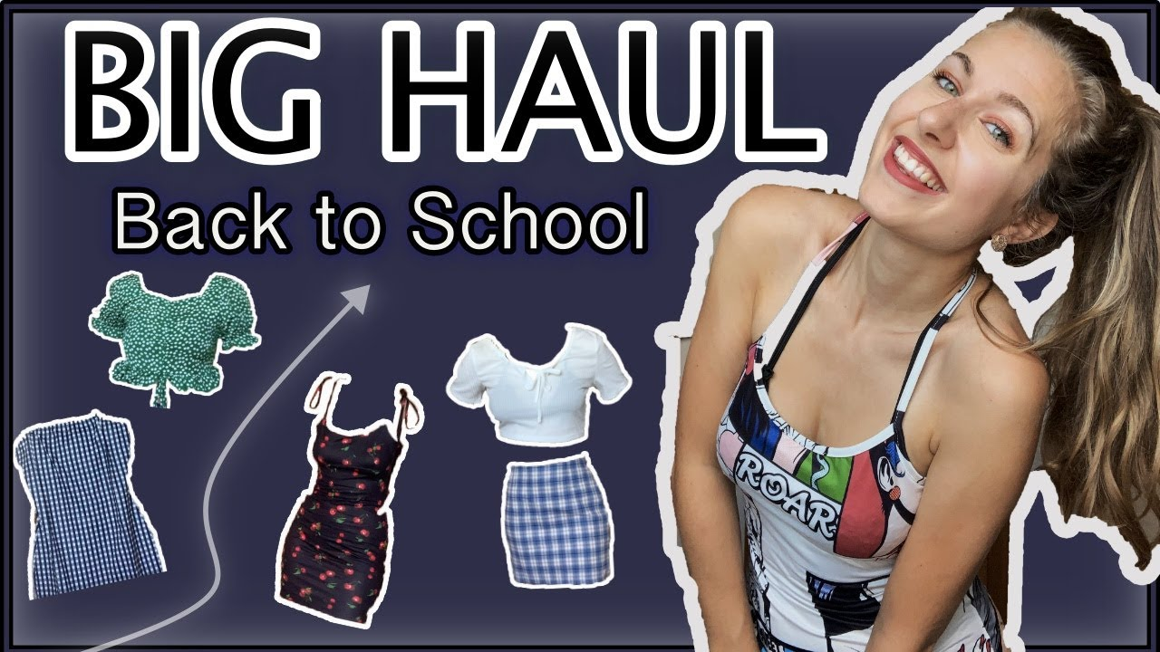 BIG HAUL BACK TO SCHOOL + TRY ON