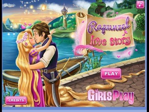 ❤เกมส์เจ้าหญิง ราพันเซลกับเจ้าชาย Disney princess Rapunzel Love Story ❤