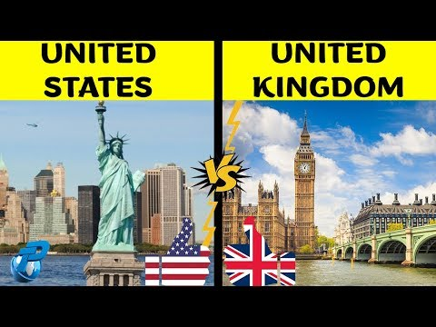 United States of America VS united Kingdom | Country Comparison | USA VS UK 2019