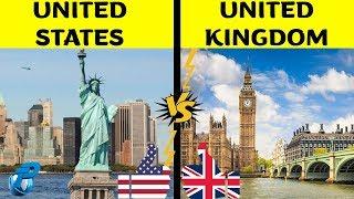 United States of America VS united Kingdom  Country Comparison  USA VS UK 2019