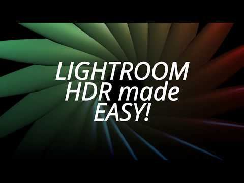 A total GAME CHANGER - HDR batch processing in lightroom CC
