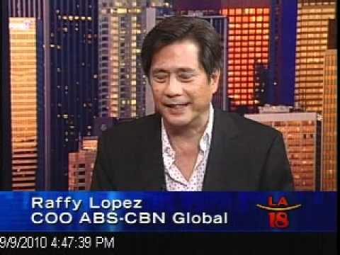 ABS CBN Global COO Raffy Lopez