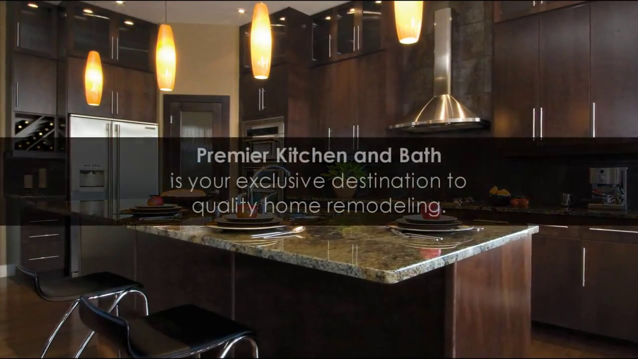 Premier Kitchen and Bath - Remodeling for your lifestyle. - YouTube