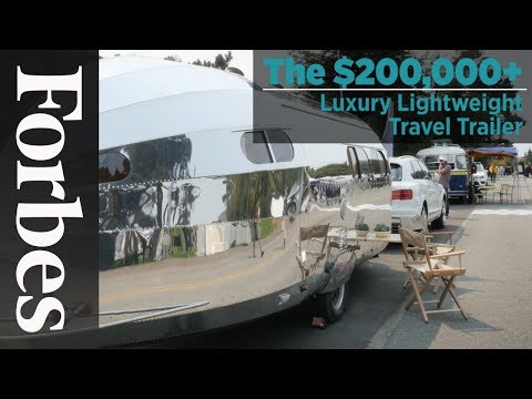 The $200,000+ Luxury Lightweight Travel Trailer
