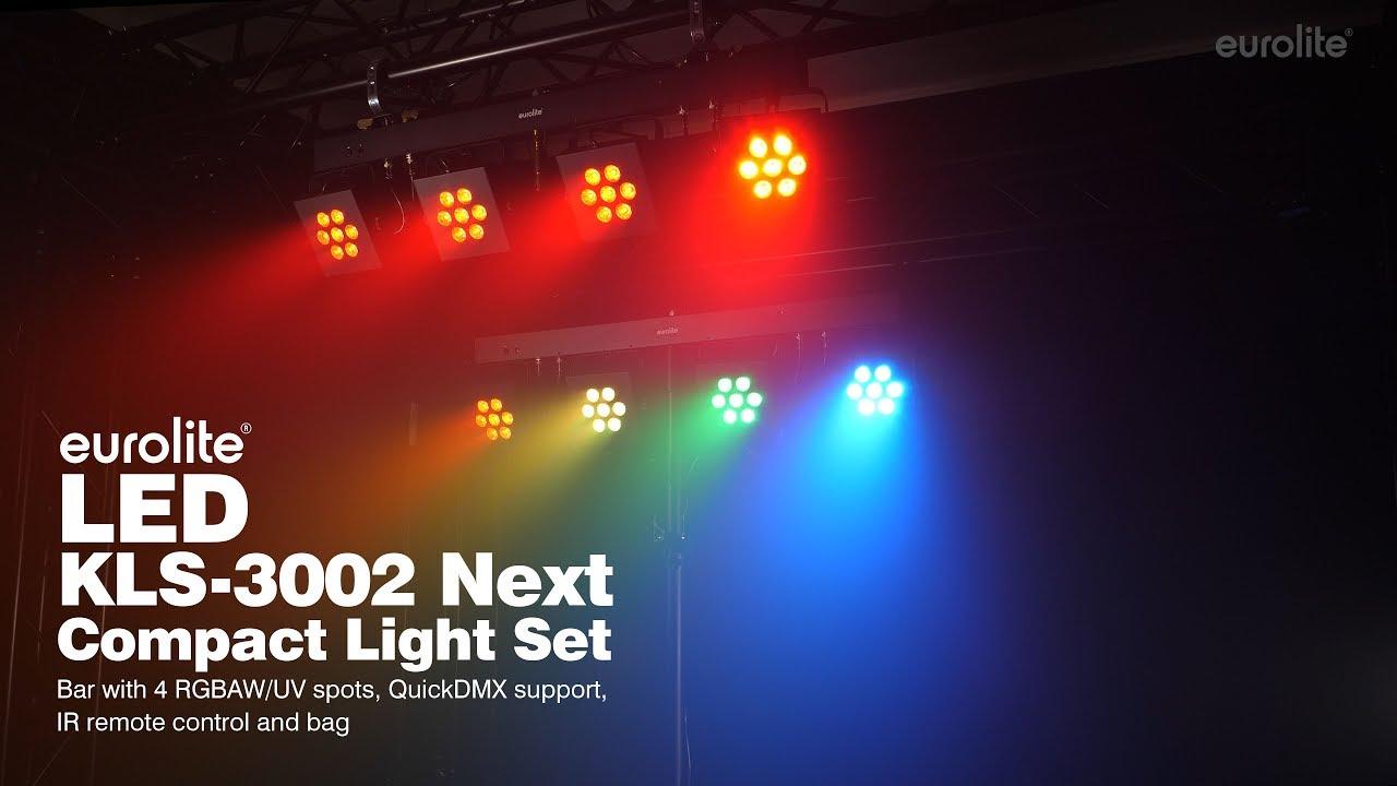 LED KLS-3002 Next Compact Light Set - eurolite