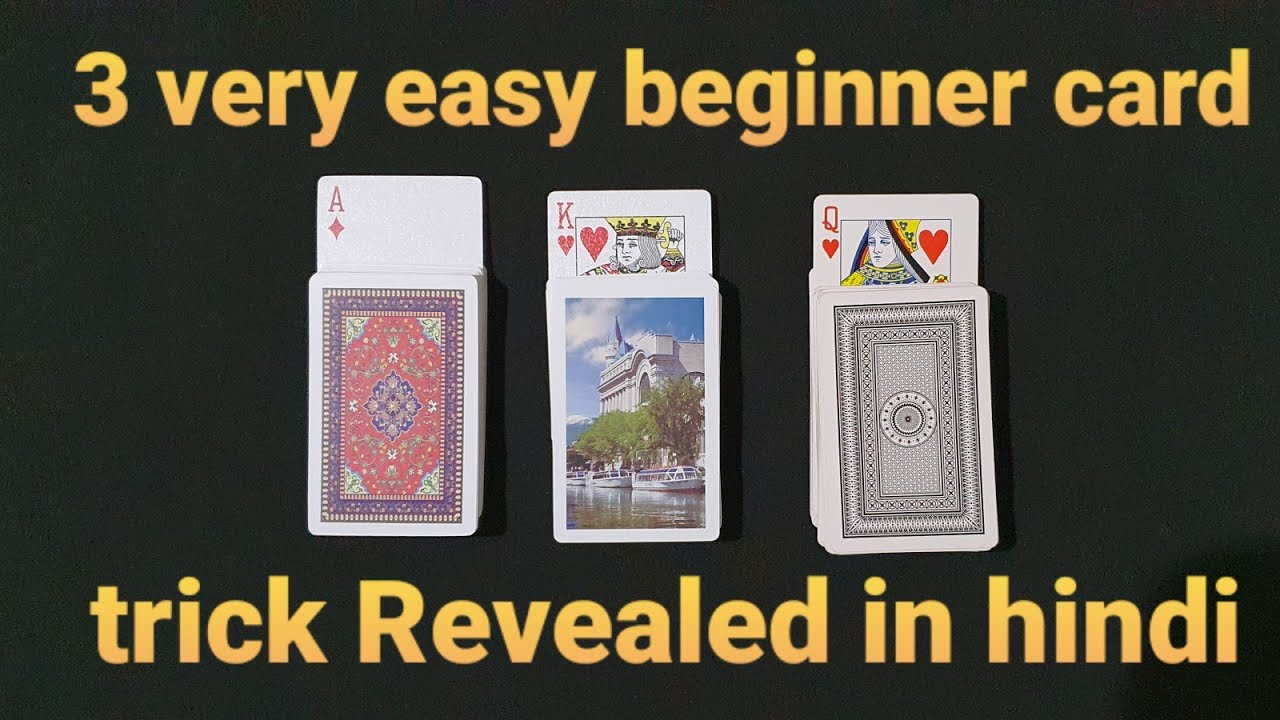 3 very easy beginner card tricks you can learn in 5
