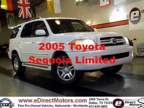 2005 Toyota Sequoia Limited Edirect Motors Youtube