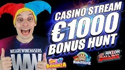 LIVE CASINO STREAM, BONUS HUNT | ONLINE SLOTS BIG WINS with mrBigSpin