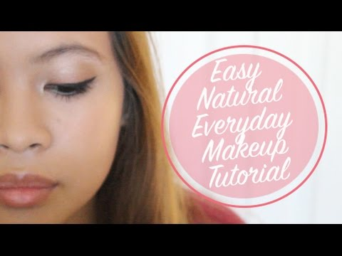 easy natural everyday makeup tutorial  vette beauty  youtube
