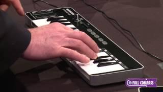 Samson Graphite M32 Miniature USB MIDI Controller Overview | Full Compass