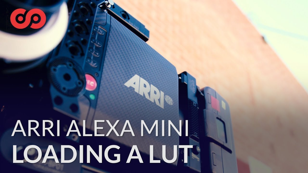 How to Load a LUT to the ARRI Alexa Mini