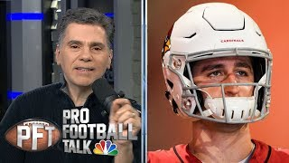Josh Rosen or Antonio Brown: Who has greater trade value? | Pro Football Talk | NBC Sports