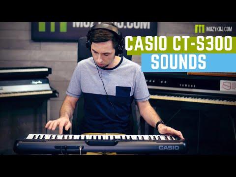 CASIO CT-S300 Sounds 4K MUZYKUJ