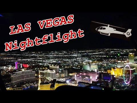 USA: Las Vegas Helicopter Night Flight (Hubschrauber Rundflug)