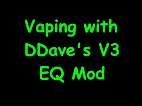 New DDave Arizer EQ V3 Mod Extraction in Action!