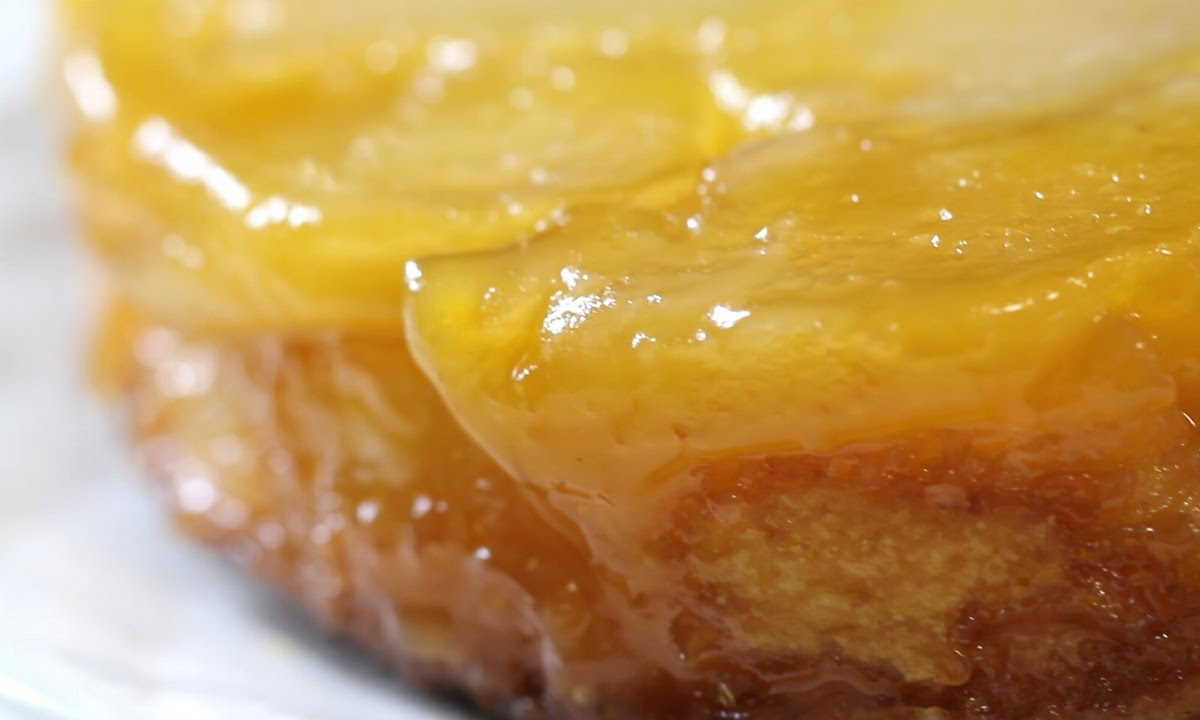 Upside down apple cake recipes easy