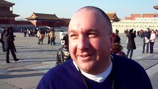 MoonWalk Idiot at The Forbidden City, Beijing, China
