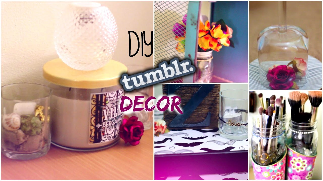 DIY Tumblr Room Decor Room Makeover YouTube
