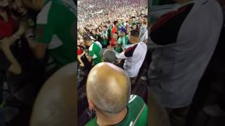 USA vs Mexico 2-3 Concacaf Cup 2015 brawl fight