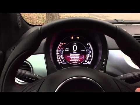 Fiat 500 TFT Display