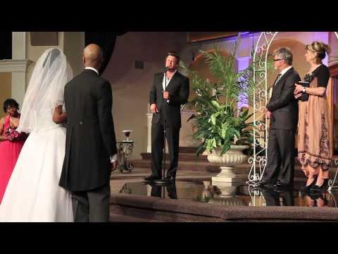 Wess Morgan Sings At My Wedding