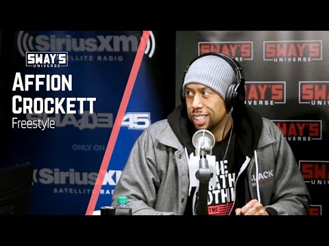 Affion Crockett Freestyles '5 Fingers of Death' on Sway in the Morning   Sway's Universe