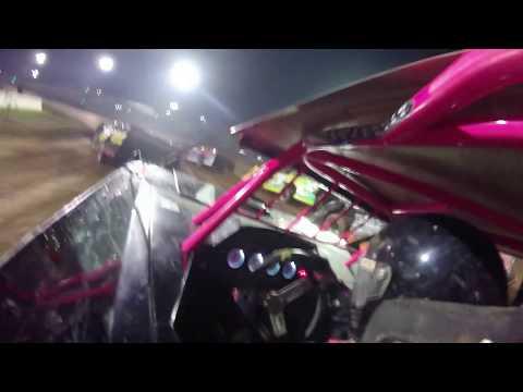Khole Wanzer #01w In Car Camera Lernerville Speedway 10-19-19